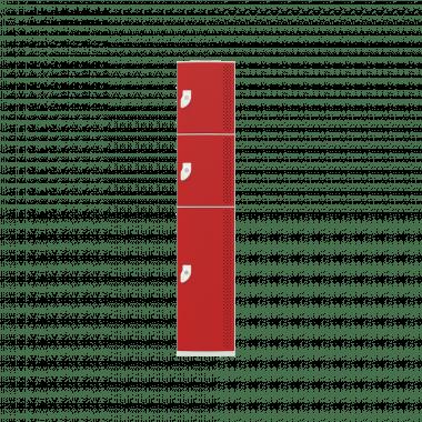 NK 1383 - GUARDA-VOLUMES DE PLÁSTICO 3 PORTAS - LINHA NR 24