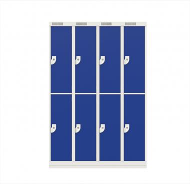 NK 4332 – GUARDA-VOLUMES DE AÇO 8 PORTAS