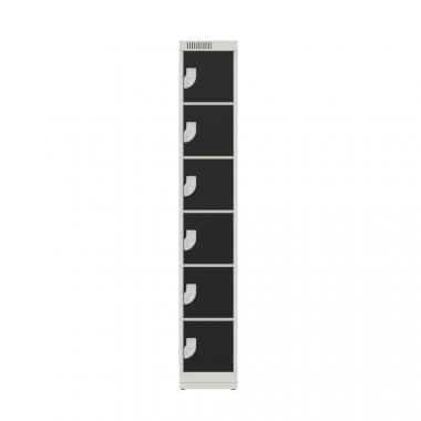 NK 1306 –  GUARDA VOLUMES DE AÇO 6 PORTAS
