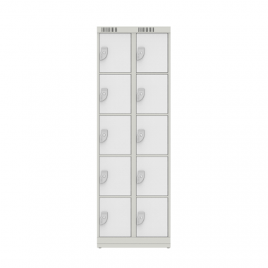 NK 2305 – GUARDA VOLUMES DE AÇO 10 PORTAS