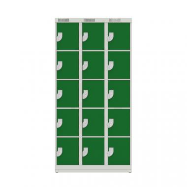NK 3305 – GUARDA VOLUMES DE AÇO 15 PORTAS
