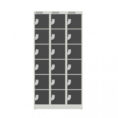 NK 3306 – GUARDA VOLUMES DE AÇO 18 PORTAS