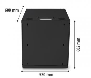 Mini Rack de parede 12U - Nilko